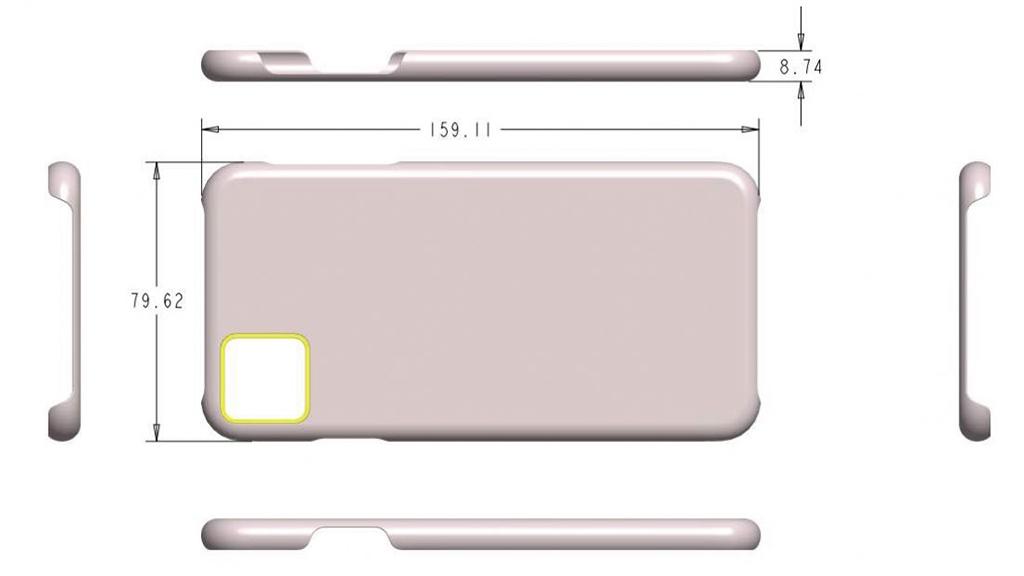 iPhone 11 ist hässlich Kamera design, scheint sicher, nachdem zwei neue Fall-render leaks