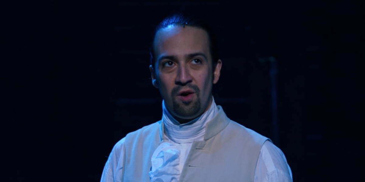 "Lin-Manuel Miranda during ""Right Hand Mand"""