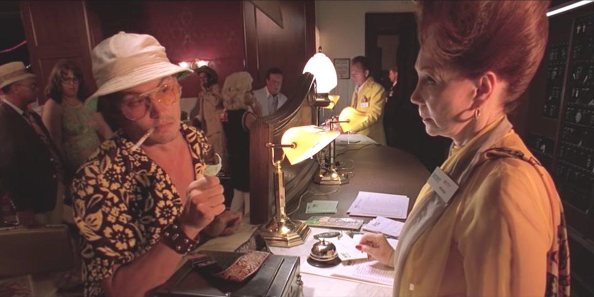 Johnny Depp in Fear And Loving In Las Vegas