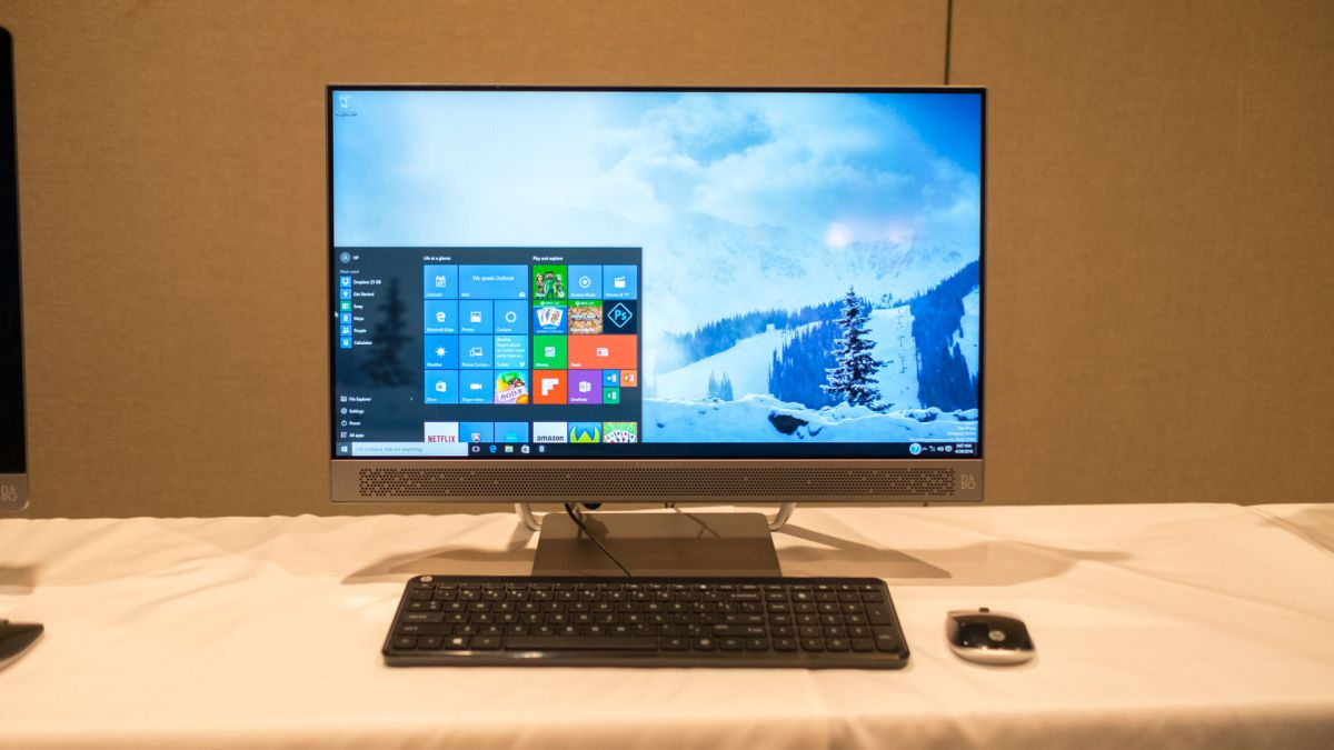 Hp Pavilion All In One With Micro Edge Display Techradar