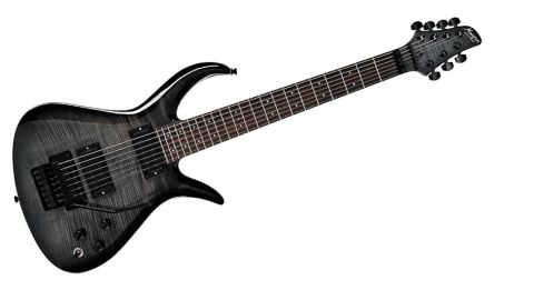 The big difference between the E-72 and it's six-string brother is the genuine Floyd Rose double-locking vibrato with matching top nut