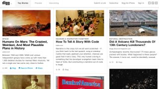 Digg goes for a song, regresses to start-up status