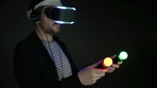 Watch us get to grips with Project Morpheus