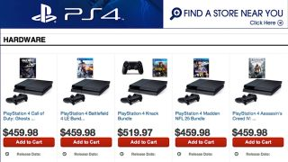GameStop PS4 preorders