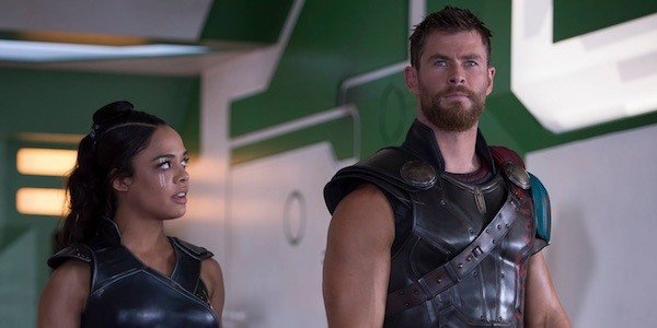 Valkyrie and Thor in Ragnarok