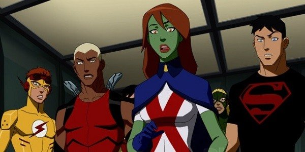 Young Justice Cast Young Justice Cartoon Network