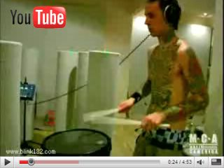 The drum legend that is Travis Barker Get well soon