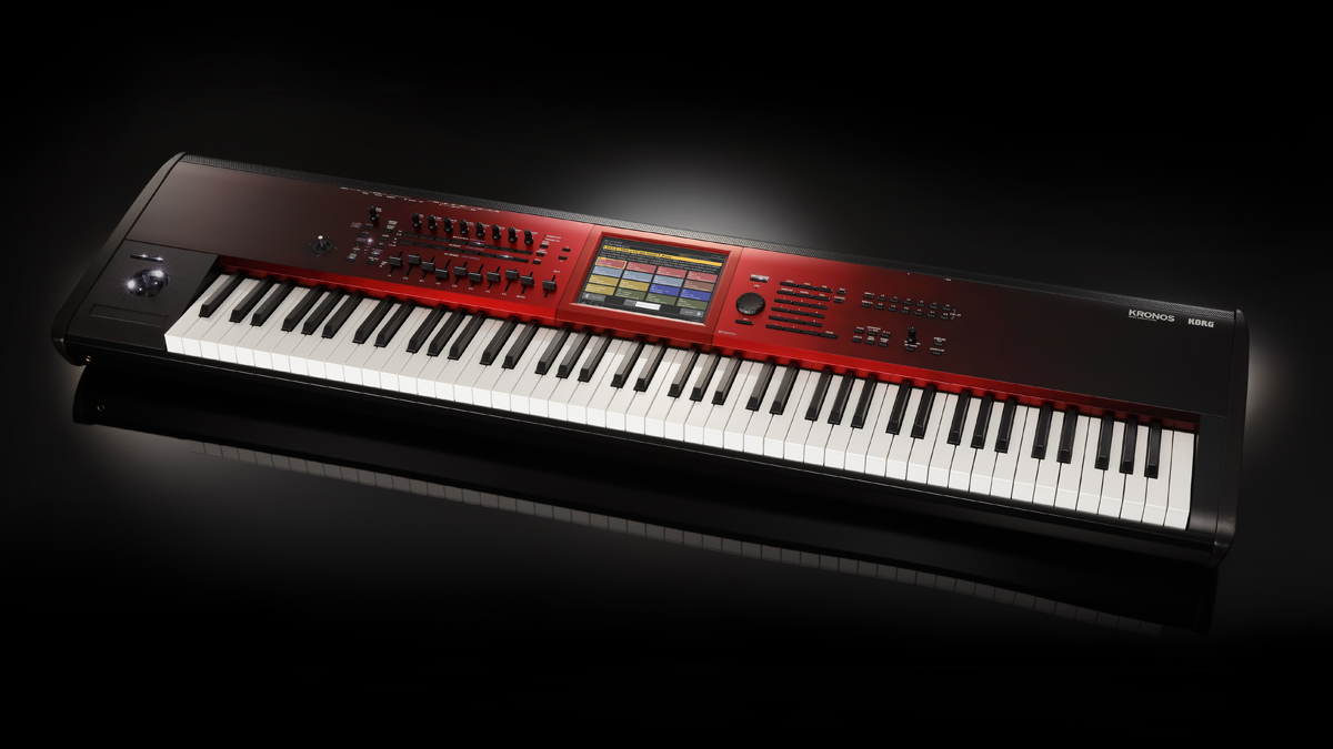 NAMM 2019: Korg sees red with the Kronos Special Edition workstation