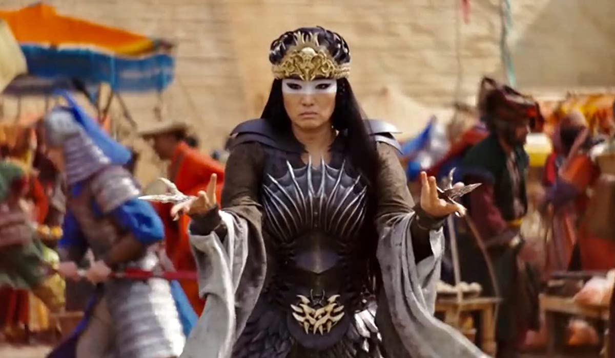 Gong Li as Xianniang in Mulan remake