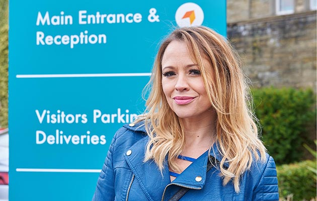 Kimberley Walsh as Claire in Ackley Bridge series two on C4