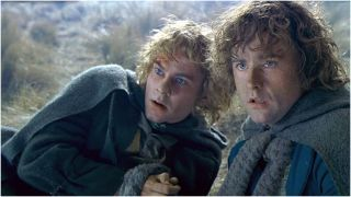 Merry and Pippin in The Two Towers
