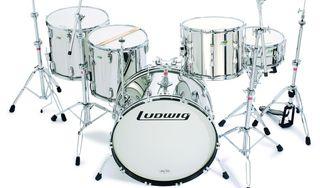 The Ludwig L8264, or Stainless Steel Kit is modelled on John Bonham's last ever kit.