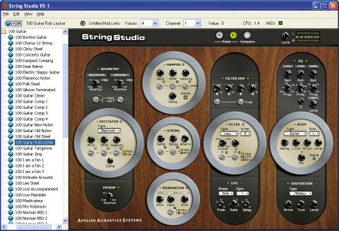 Are you looking for a unique acoustic guitar emulation? This could provide it!
