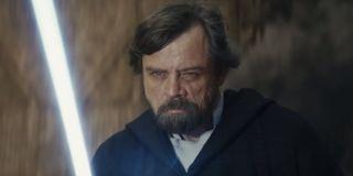 Luke Skywalker in Star Wars The Last Jedi