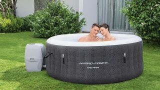 Inflatable hot tub deal: Save 50% on this four-person hot tub at Walmart