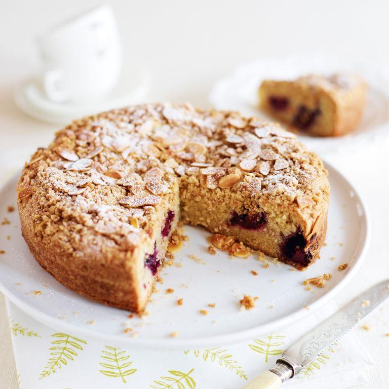 Vegan Blackberry And Almond Cake