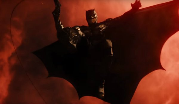 Justice League Batman red Skies