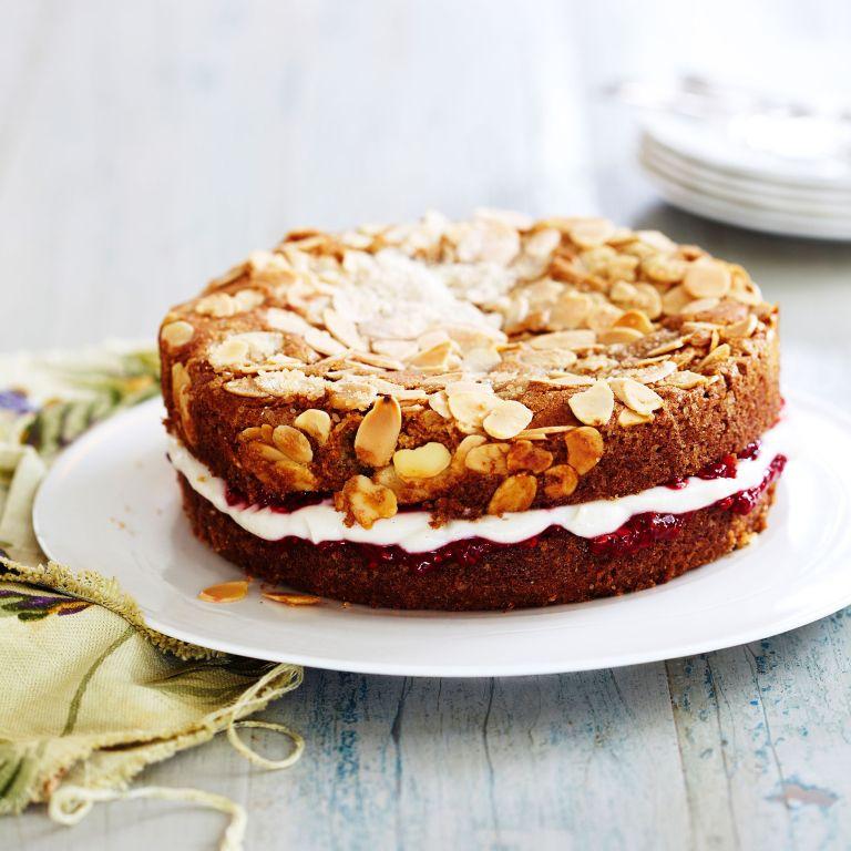 Vanilla Almond Cake photo