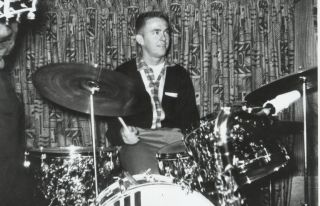 Jerry Lee Lewis drummer and rock innovator JM Van Eaton