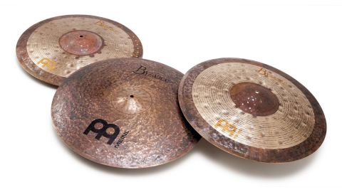 Meinl Byzance Nuance ride (left)
