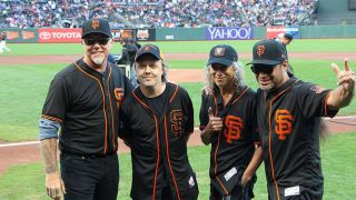 Metallica at the ballgame