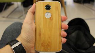 Moto X woodgrain