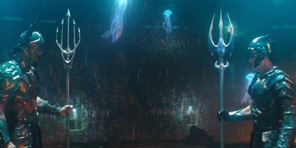 Aquaman fights Orm 2018 movie
