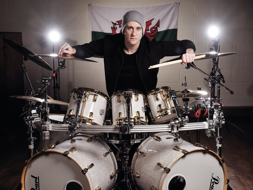 Bullet For My Valentine S Drum Setup In Pictures Musicradar