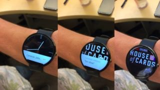 The power of Netflix in the palm of... well, on your wrist