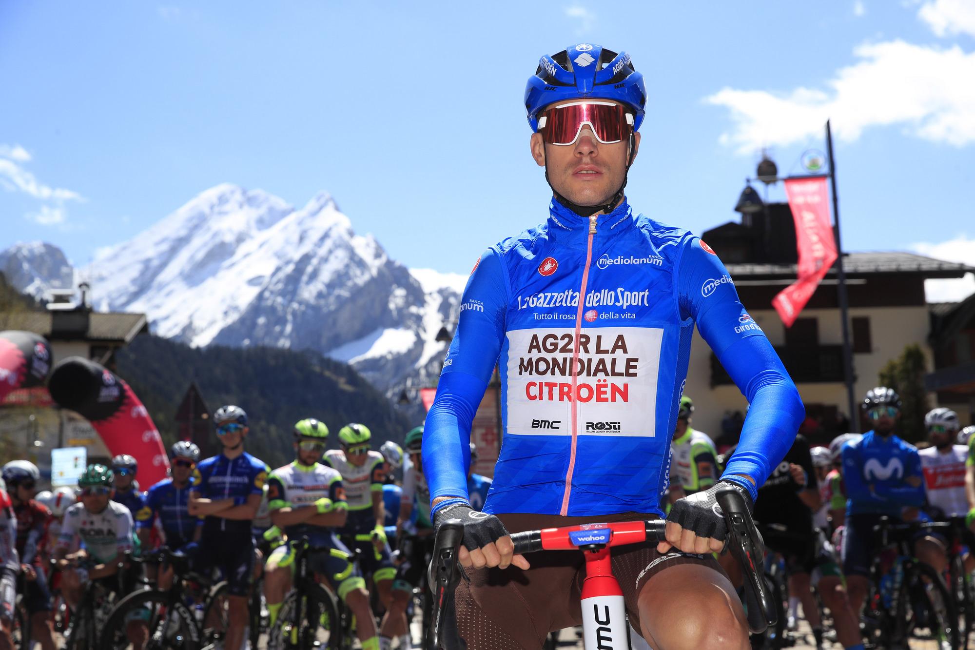 Giro d'Italia 2021 - 104th Edition - 17th stage Canazei - Sega di Ala 193 km - 26/05/2021 - Geoffrey Bouchard (FRA - AG2R Citroen Team) - photo Luca Bettini/BettiniPhoto©2021
