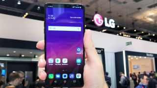A photo taken by the TechRadar team of the new LG G7 Fit