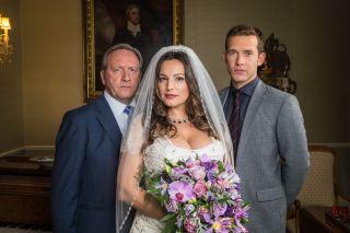 Midsomer Murders Kelly Brook as a bride