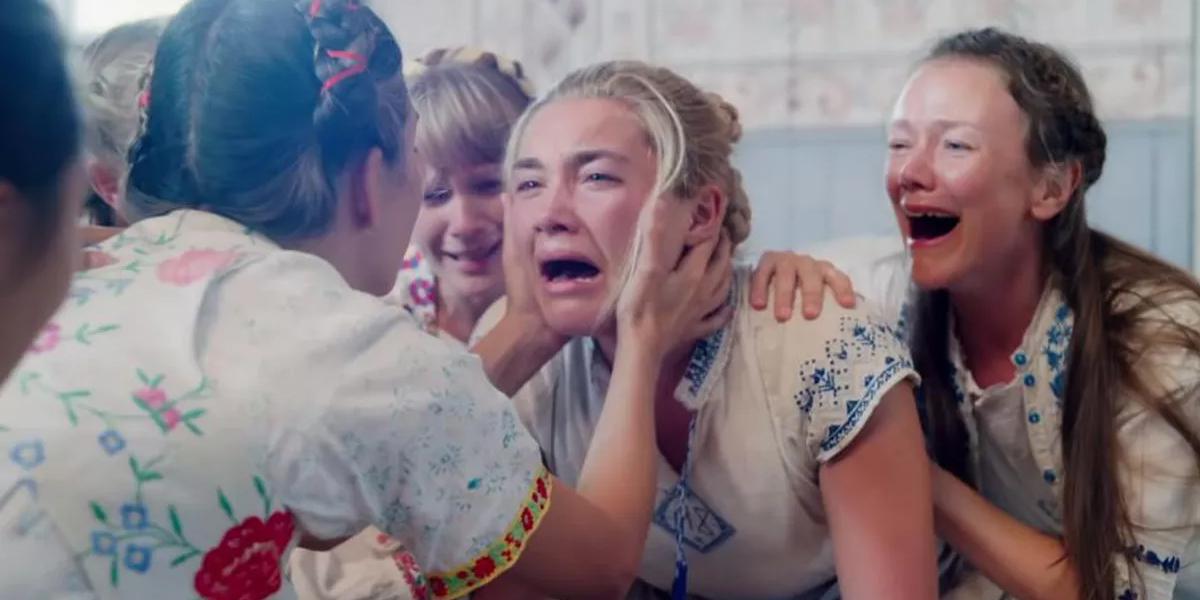 Midsommar Pugh crying
