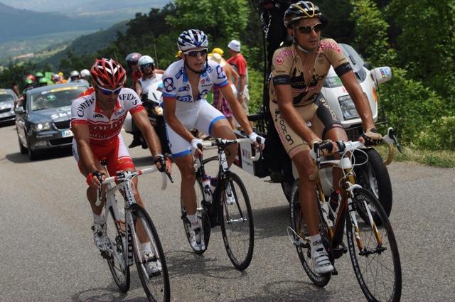 Escape group, Tour de France 2010, stage 11