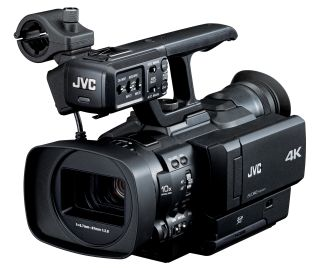 JVC unveils world's first 4K handheld camcorder
