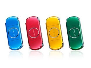 PSP - colourful