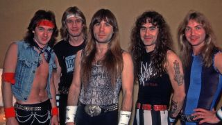 Iron Maiden on the World Slavery Tour