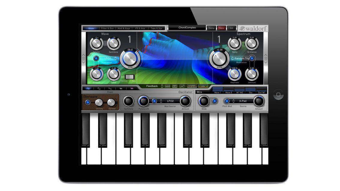 waldorf unveils nave wavetable synthesiser for ipad musicradar. Black Bedroom Furniture Sets. Home Design Ideas