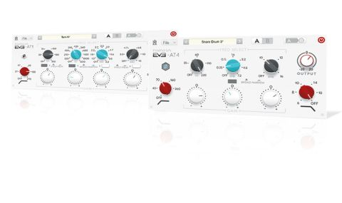 Kuassa's EVE-AT bundle draws its inspiration from Neve's 1081 and 1084 hardware EQs