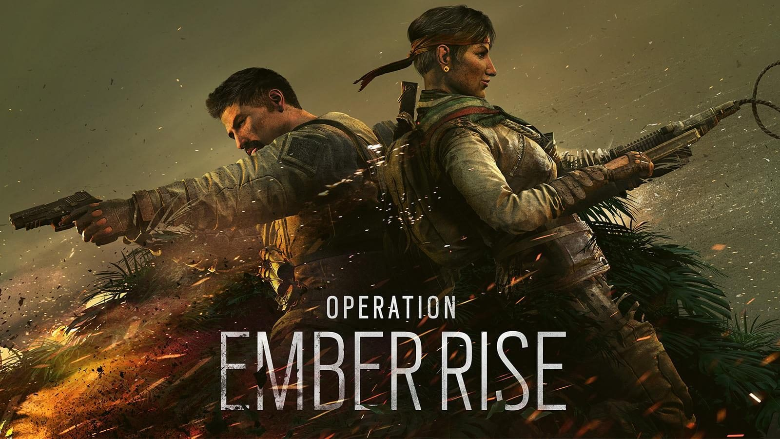 Rainbow Six Siege's new season, Operation Ember Rise