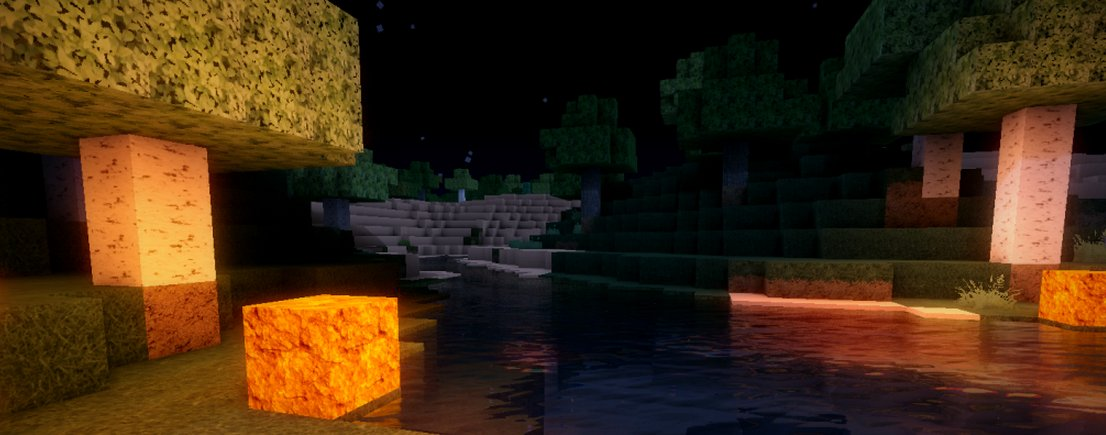 Minecraft mod adds beautiful lighting and water   PC Gamer