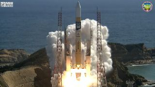 Japan's H-2A rocket launched a new navigation satellite into orbit from the Tanegashima Space Center on Monday (Oct. 25).