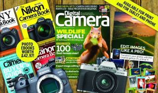 Gifts worth £39 with Digital Camera's new issue, including 3 eBooks and an image presentation megapack