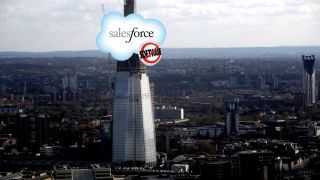 Salesforce's London tower