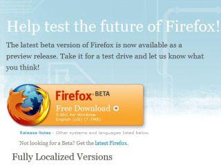 Mozilla announces Firefox 3 6 Beta 1 for download | TechRadar