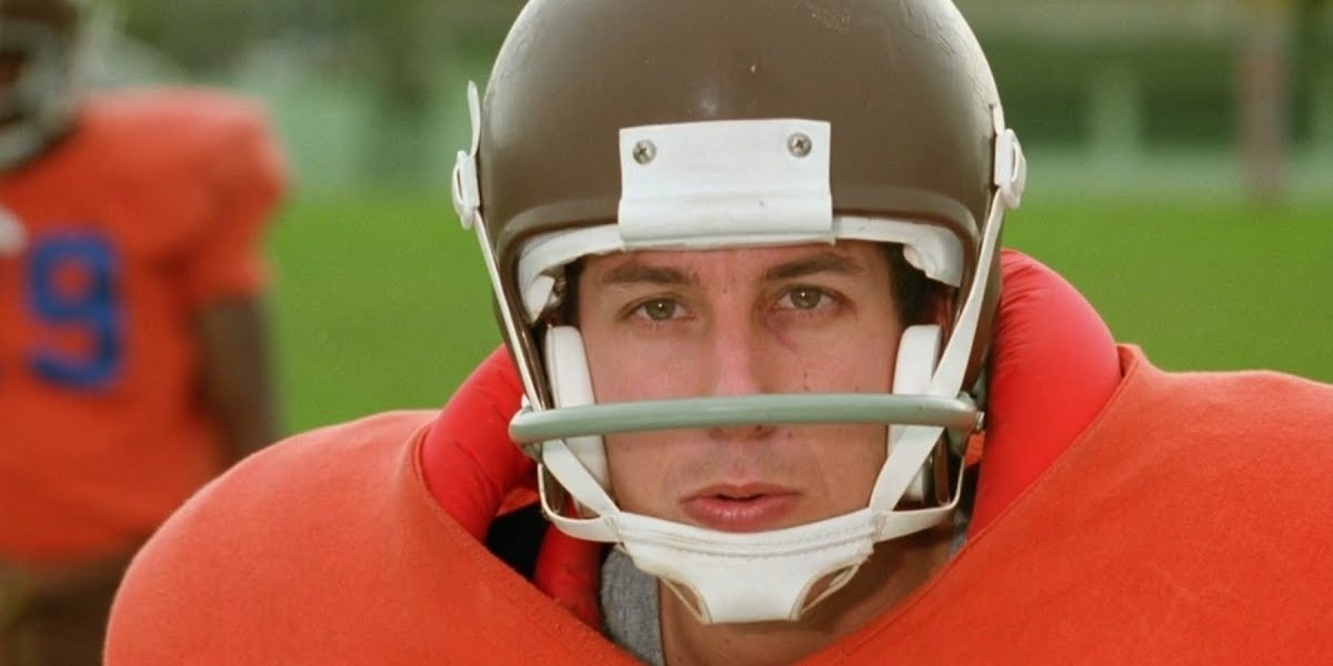 Adam Sandler as Bobby Boucher in The Waterboy (1998)