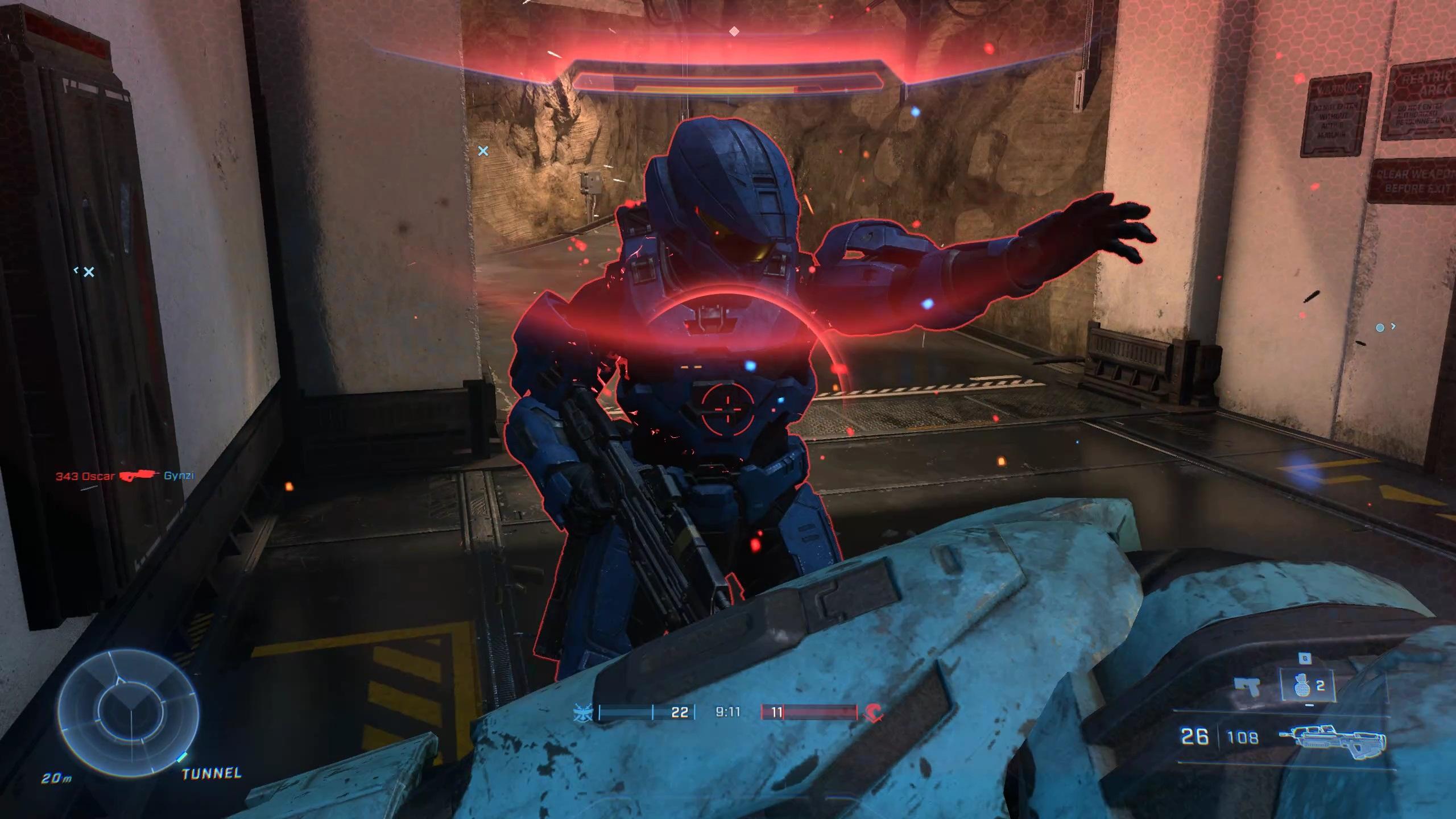 Halo Infinite outline close-up
