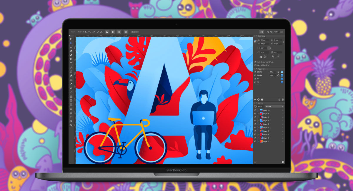 Hot new vector art app launches in free beta