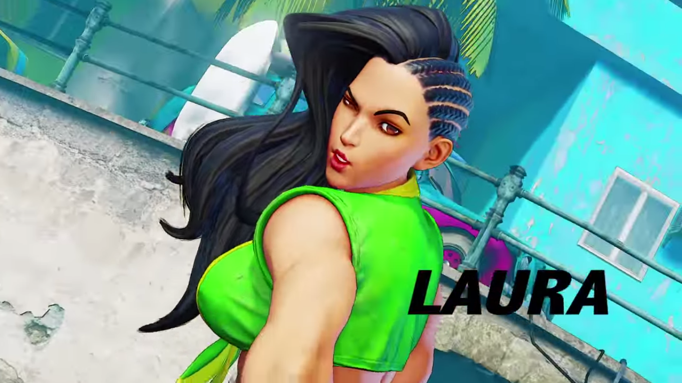 Street Fighter 5 reveals the electric Laura | PC Gamer
