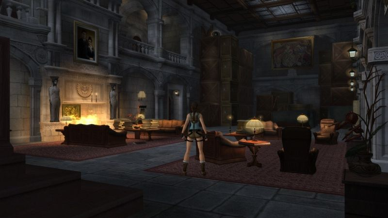 Why I Love Exploring Lara Croft S Mansion Gamesradar